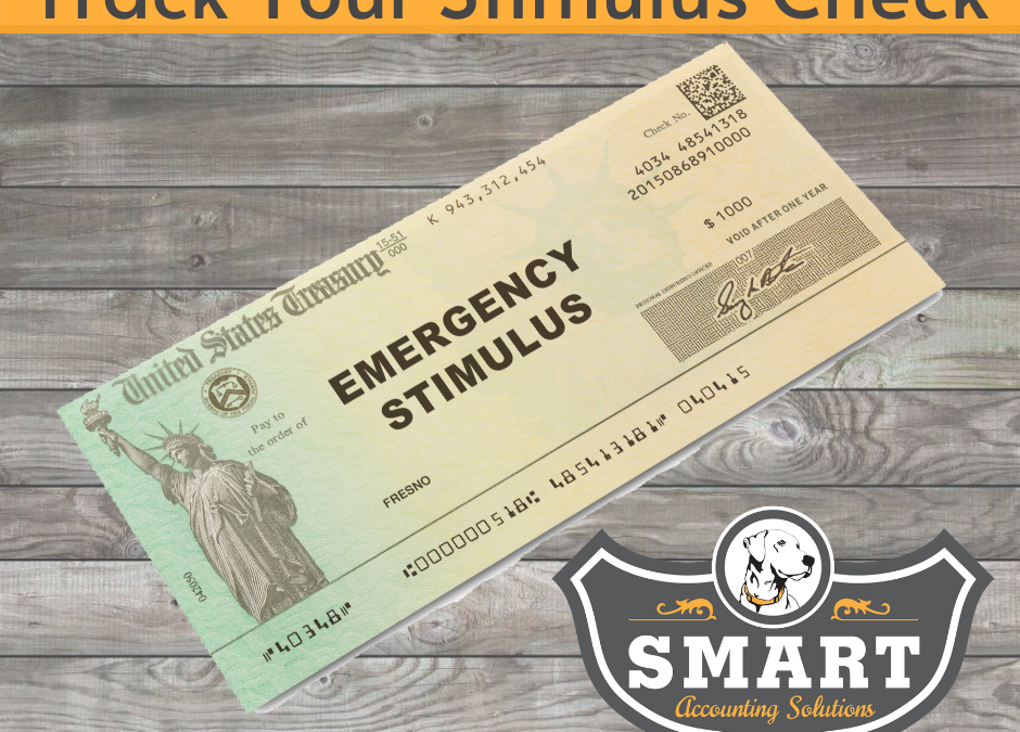 IRS Stimulus Tracking Portal | Smart Accounting Solutions